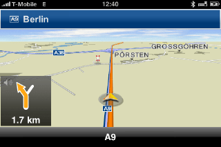 iPhone App Navigon