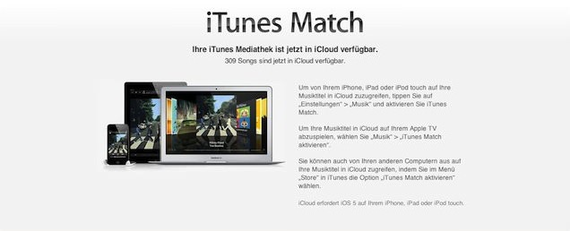 iTunes Match Installation