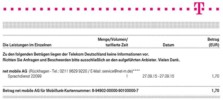SMS-Regeln vor dem ersten Datum