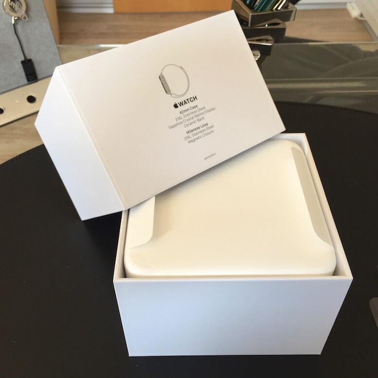 apple watch ausgepackt und erste eindr cke tekshreks blog. Black Bedroom Furniture Sets. Home Design Ideas
