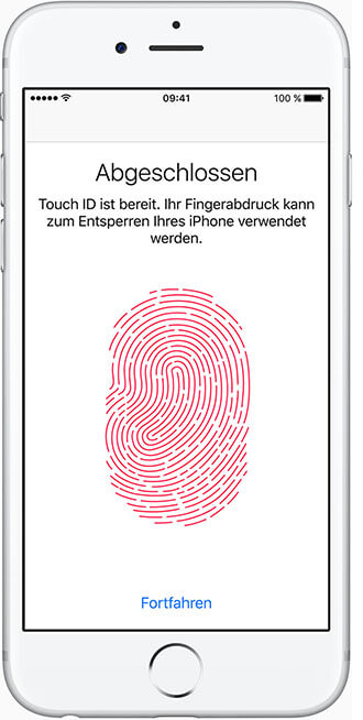 iPhone 6s Plus: Touch ID