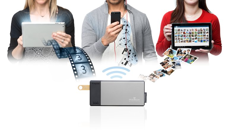 Kingston MobileLite Wireless · Benutzung