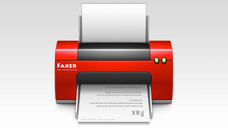 Faxer für Mac OS X