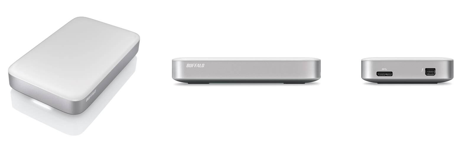 Buffalo MiniStation: Thunderbolt und USB 3.0