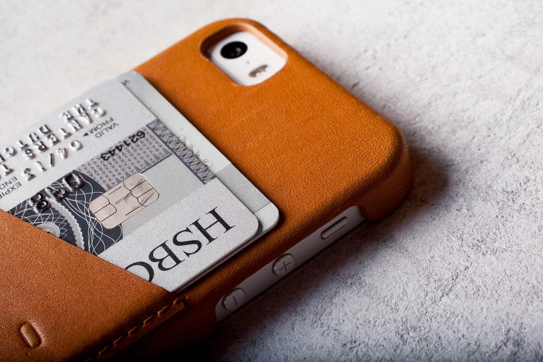 Leather Sleeve iPhone 5s