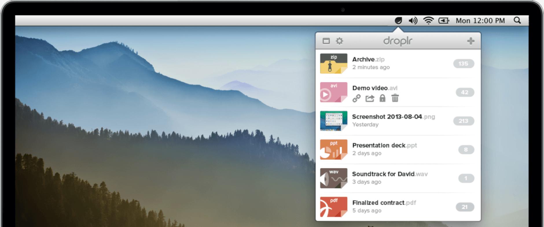 Droplr Mac App