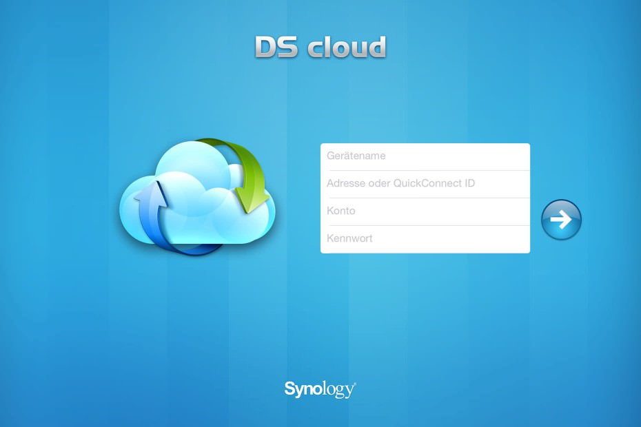 DiskStation DS215j - DS cloud QuickConnect