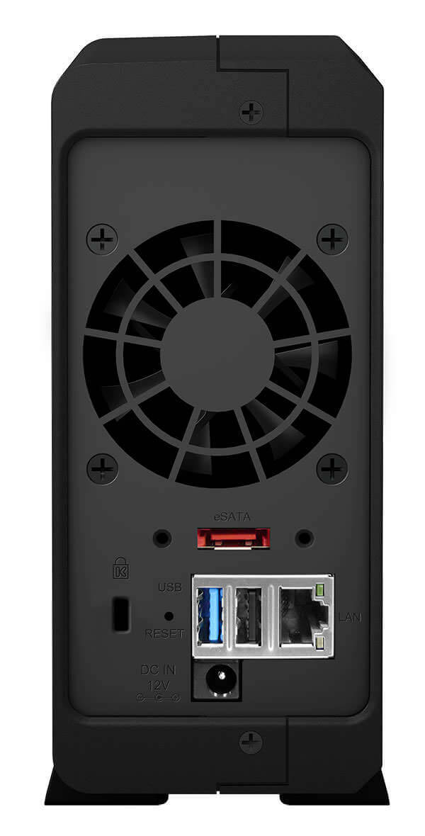 Synology DiskStation DS115 - Rückseite