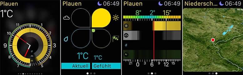 WeatherPro für Apple Watch