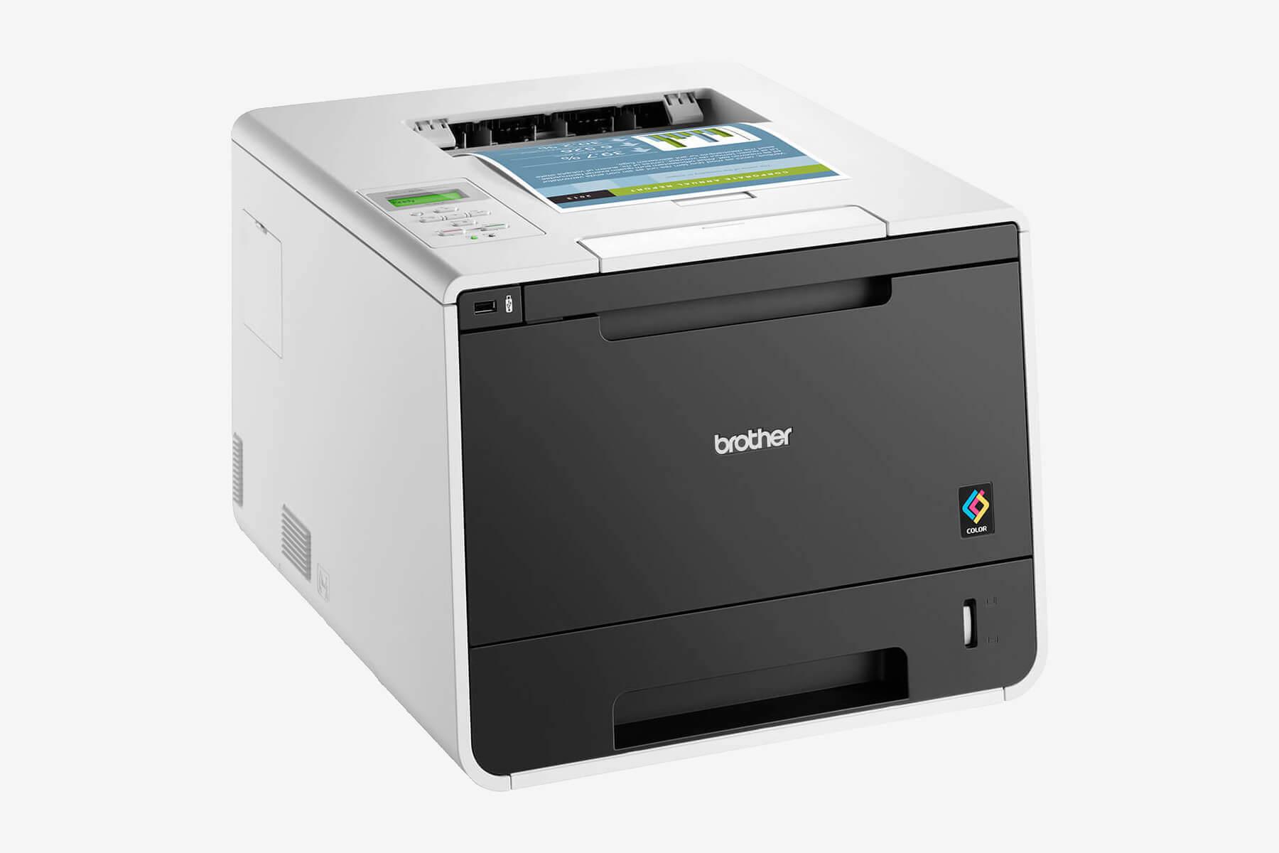 Brother HL-L8350CDW im Test - professioneller Farblaserdrucker mit Duplex & WLAN