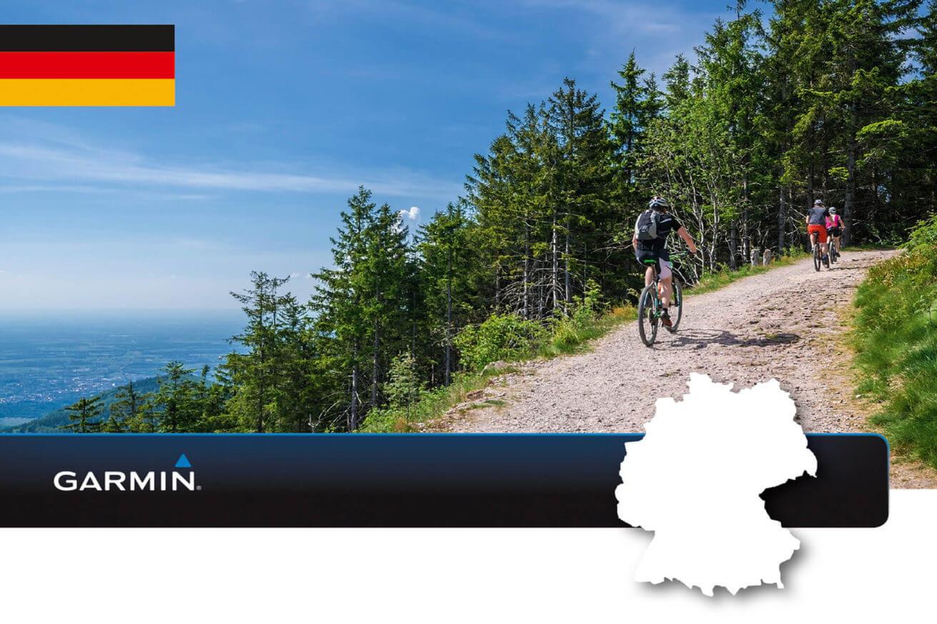 Garmin TOPO Deutschland v8 Pro - Outdoor- und Wanderkarte