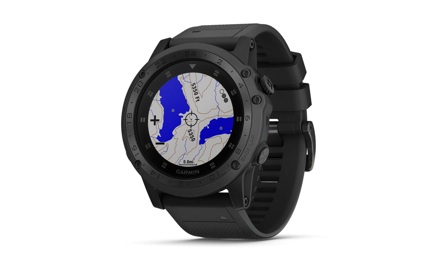 Garmin tactix Charlie Outdoor- und Multisportuhr - Display