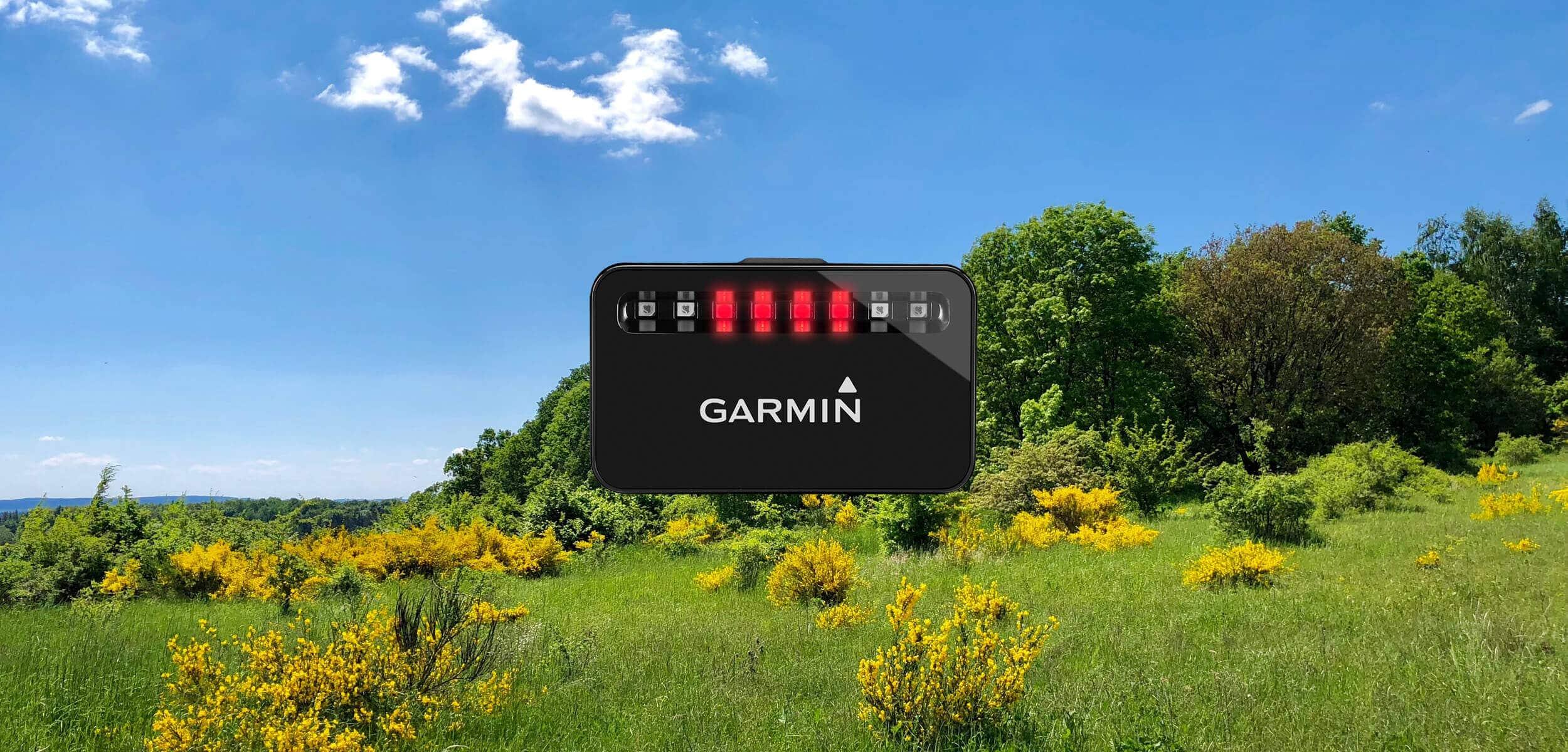 Garmin Varia Fahrrad-Radar - meine Erfahrungen