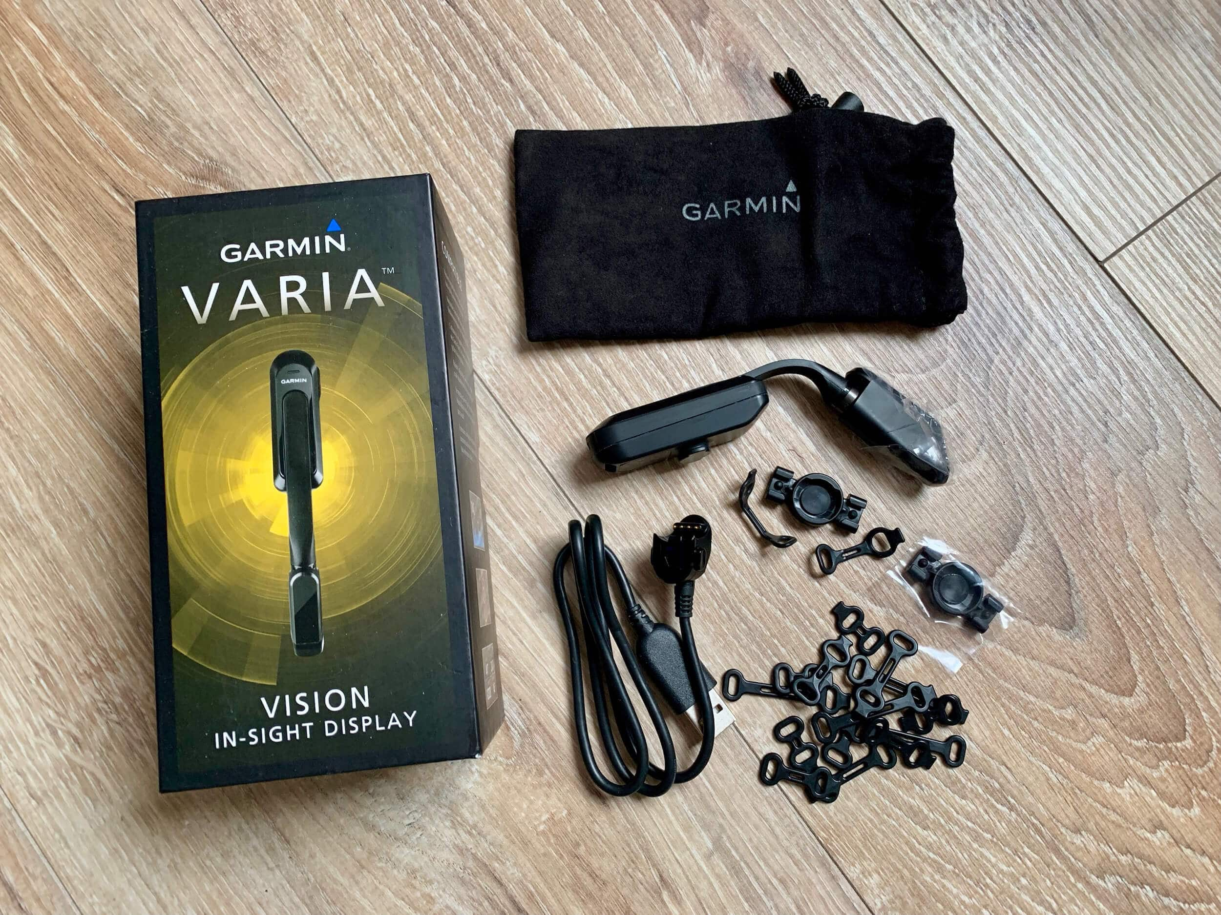 Garmin Varia Vision In-sight Display - Lieferumfang