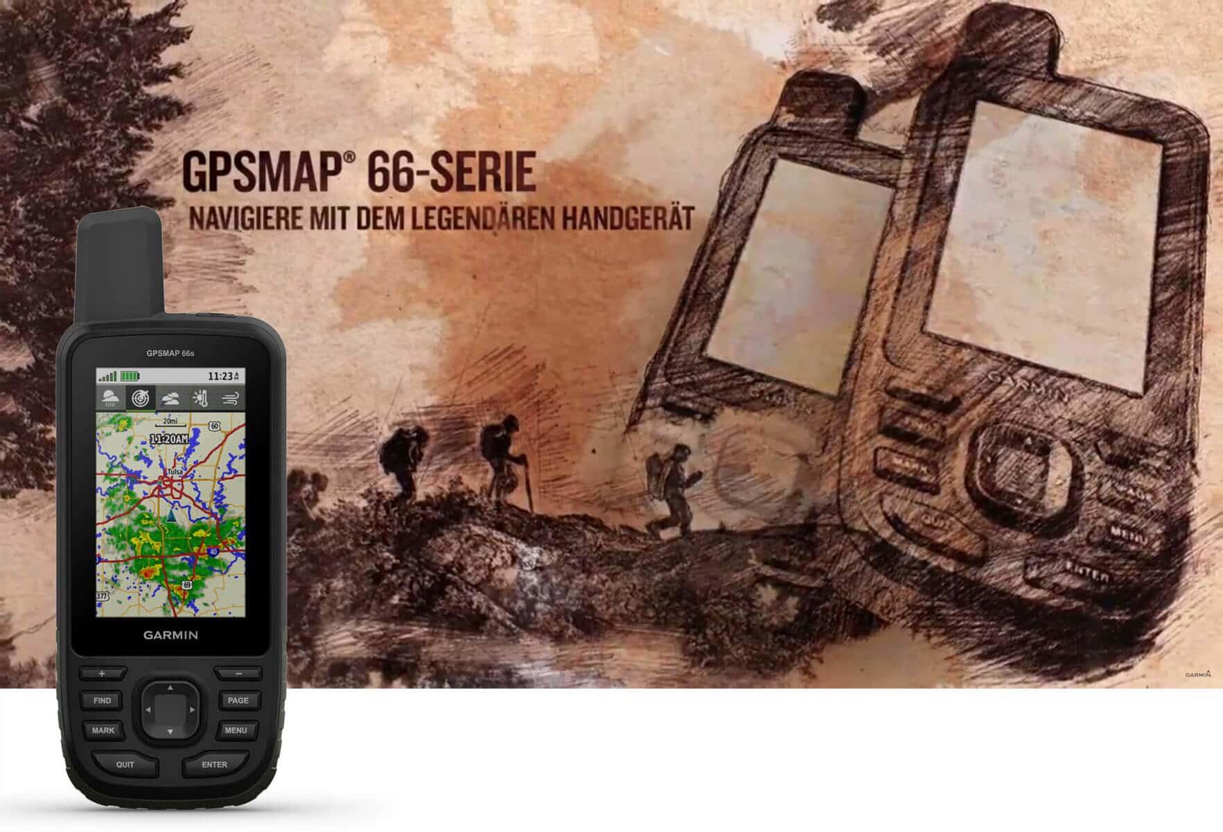 Garmin GPSMAP 66st im Test