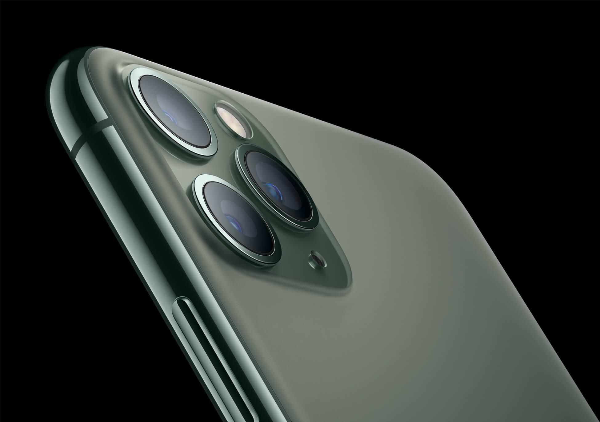 Apple iPhone 11 Pro Max in Nachtgrün