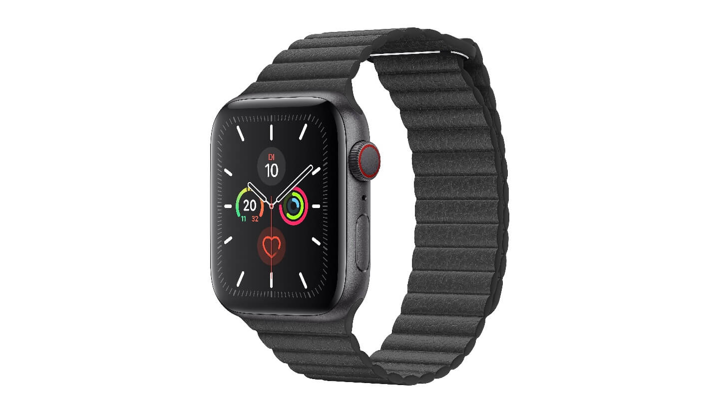 Apple Watch 5 Aluminium Space Grau