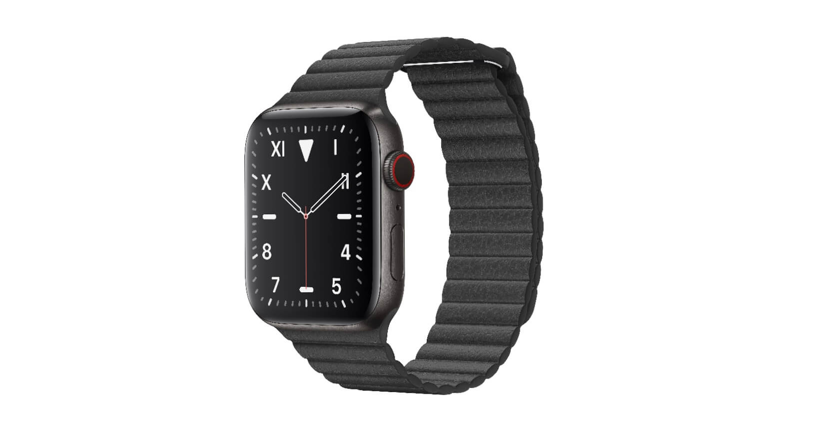 Apple Watch 5 Edition Titan Space Schwarz